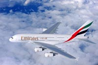 Emirates A380 © Emirates Airlines