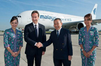 Malaysia Airlines takes delivery of A380 © Airbus