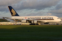 A380 of Singapore Airlines © Singapore Airlines