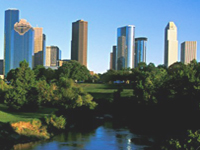 Skyline von Houston, Texas © Greater Houston Convention and Visitors Bureau